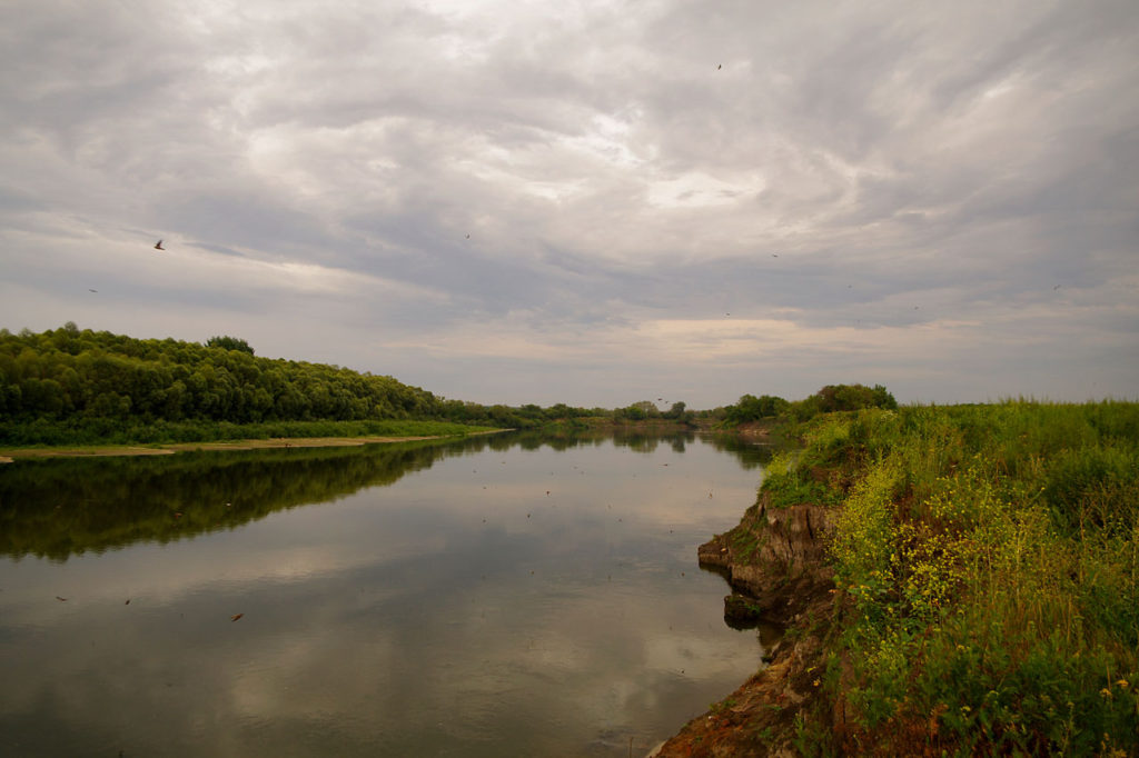 Рыбалка на Дону около села Костёнки