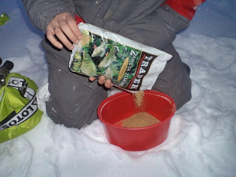 Прикормка зимой