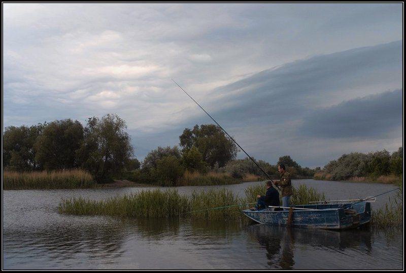 Рыбалка в дельте Дона