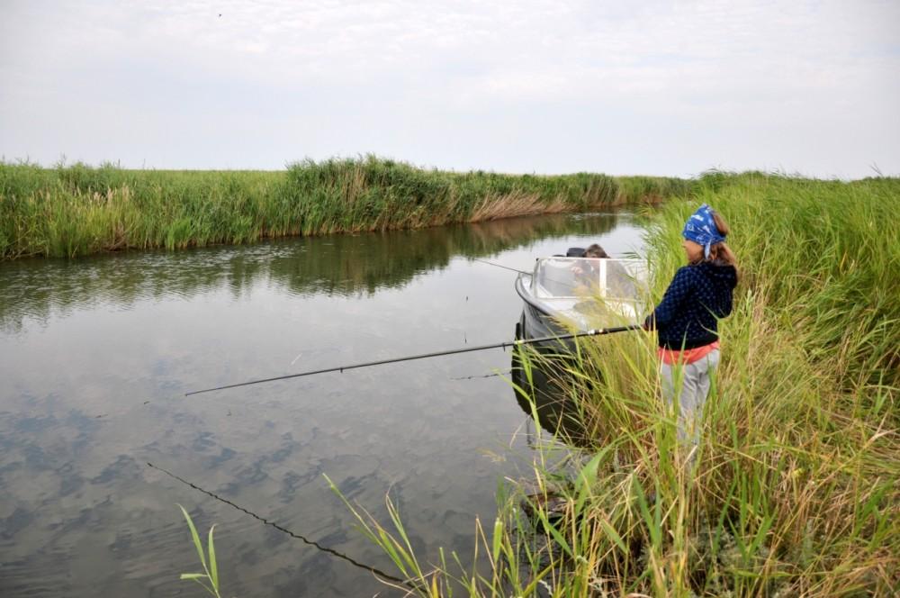 Рыбные места Приморско-Ахтарского района