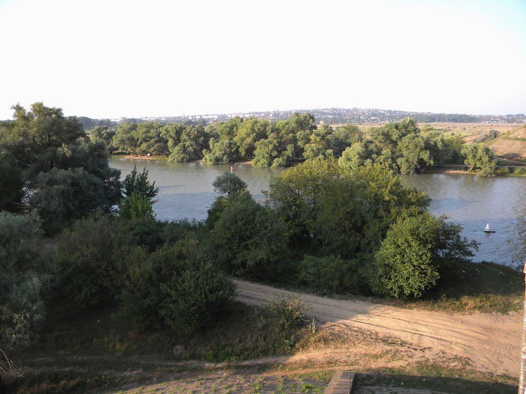 На реке Кубани, где объездной мост
