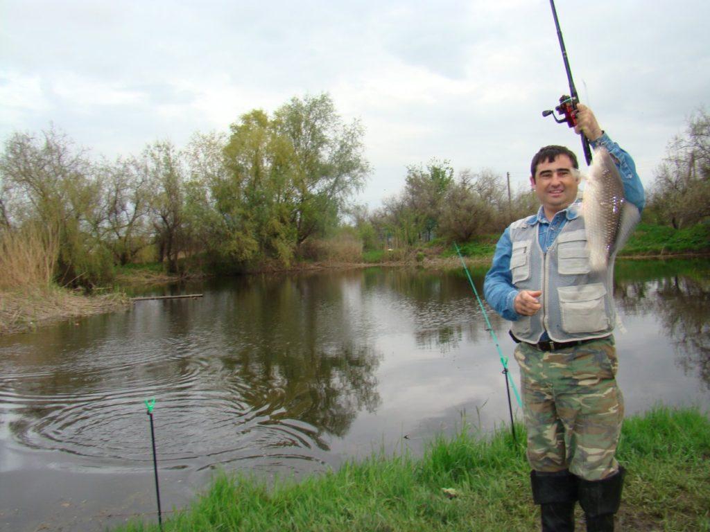 Рыбалка в «Елизаветке»