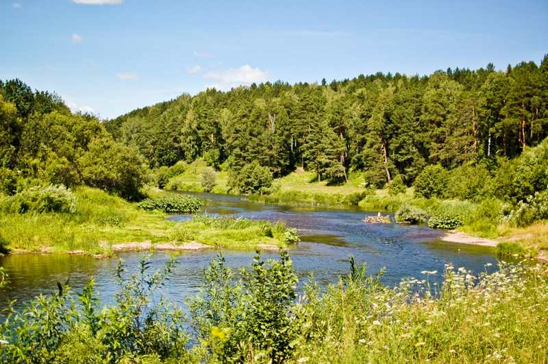 Река Бабка - Рыбалка в Пермском крае