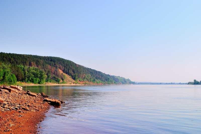 Река Кама - Рыбалка в Пермском крае