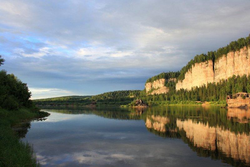 Река Вишера - Рыбалка в Пермском крае