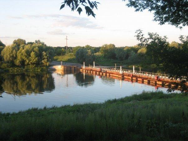 Понтонный мост Коротояк